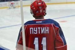 Владимир Путин и Александр Лукашенко сыграли в хоккей в Сочи
