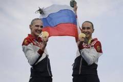 Наши герои Рио. Наталья Ищенко и Светлана Ромашина