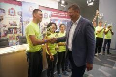 Нижний Новгород впервые принял участников третьего веломарафона «BlIND RACE»