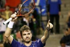 Вавринка победил Чилича и вышел в 1/4 финала турнира в Шанхае