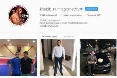 Хабиб на 4-м месте по популярности россиян в инстаграме. Он догоняет Тимати