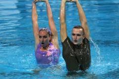 «Это на совести судей…» Впервые за восемь лет Россия отдала золото в синхронном плавании