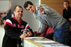 Малкин и Гончар присутствуют на матче ЦСКА - «Донбасс»