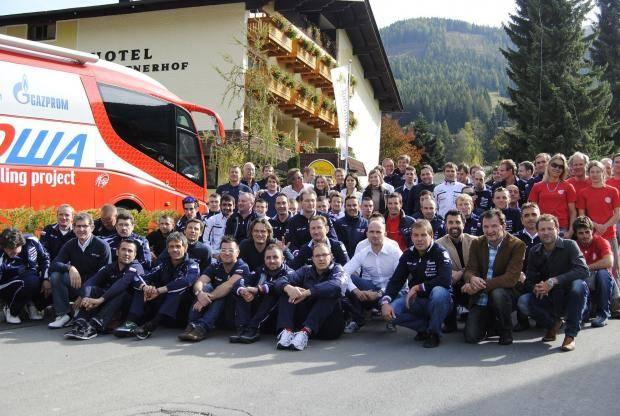 Команда «Катюша» проведет тренировочный сбор в Италии