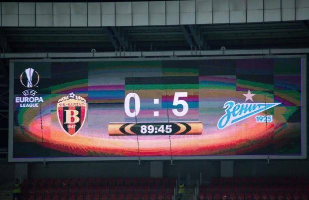 Рекорд «Зенита»: так крупно в гостях в группе российские клубы еще не выигрывали