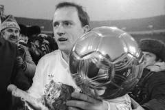 Обладатель «Золотого мяча»-1986Игорь Беланов: Нашим нынче наглости нехватает