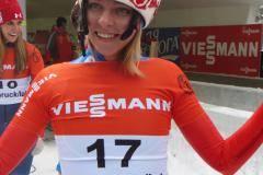 Впереди Европы всей. Елена Никитина впервые в истории российского скелетона стала чемпионкой Европы
