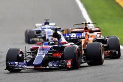 Нездоровая Спа. Сломанный двигатель испортил Квяту «Гран-при Бельгии»