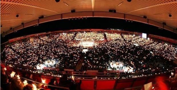 Счастливого Рождества! 28500 болельщиков «Униона» отметили праздник на стадионе