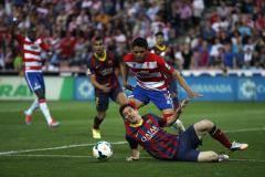 «Барселона» в гостях неожиданно проиграла «Гранаде»