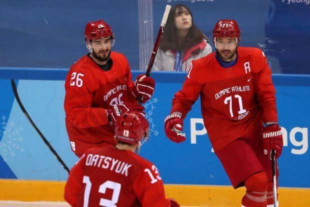 ОИ-2018. Хоккей. Россия – Германия (4:3). Как это было