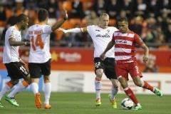 Португалец Везу в своем дебютном матче за «Валенсию» забил победный мяч «Гранаде»
