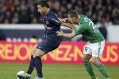 Лига 1. 11-й тур. ПСЖ уступил «Сент-Этьену», «Бордо» вырвал победу у «Тулузы» и другие матчи