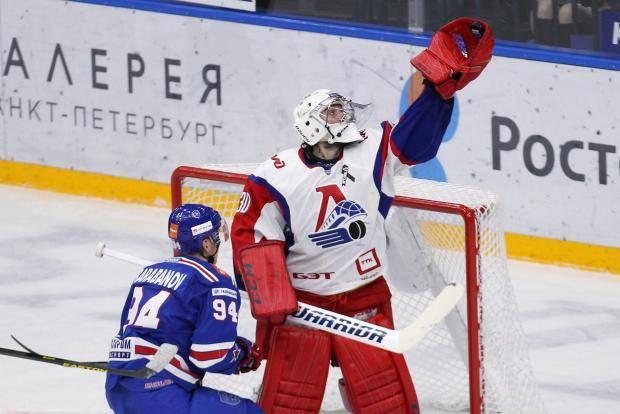 СКА в первом раунде плей-офф КХЛ встретится с «Локомотивом»
