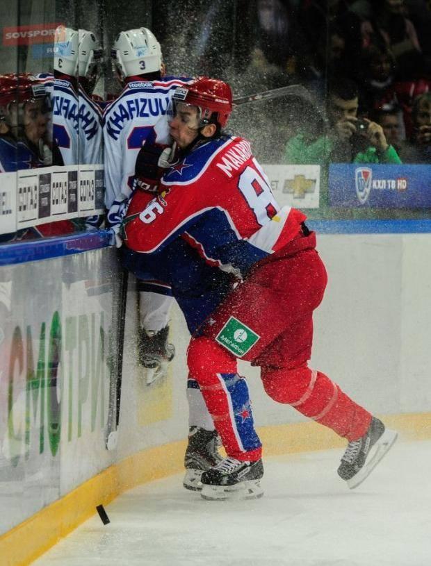 «Атлант» выиграл в Минске