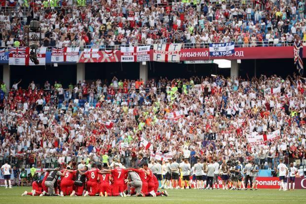 Англия разгромила Панаму и вышла в 1/8 финала чемпионата мира