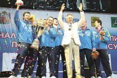 В Оренбурге появилась «Барса»! В прошлом году клуб «Факел Газпрома» выиграл все соревнования, в которых участвовал