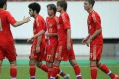 Молодежная сборная России обыграла словенцев
