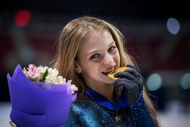 Александра Трусова: В 10 лет я прыгала все тройные, в 12 выучила четверной
