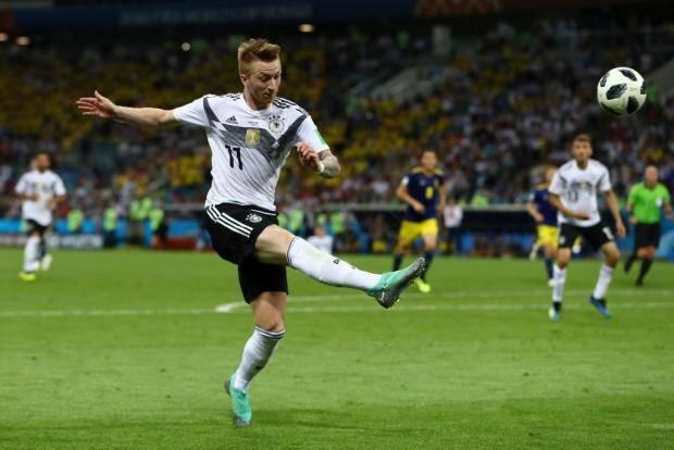 Марко Ройс – лучший игрок матча Германия – Швеция