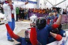 Четверка Зубкова завоевала золото в бобслее на Олимпиаде в Сочи