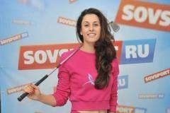 Мария Верченова в гостях у «Советского спорта»