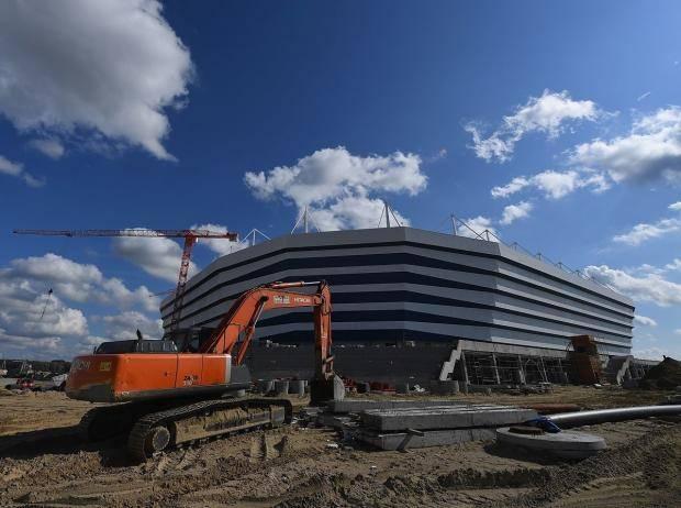 Пробиваем очередное дно? Стадион в Калининграде уходит под землю