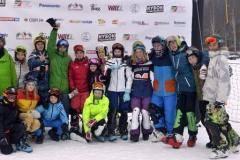 В Подмосковье прошел открытый Международный детский кубок по сноуборду