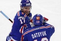 Самые красивые шайбы КХЛ первой части сезона 2016/17 (видео)