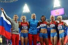Какой прекрасный день! В субботу легкоатлетическая  сборная России завоевала  восемь медалей