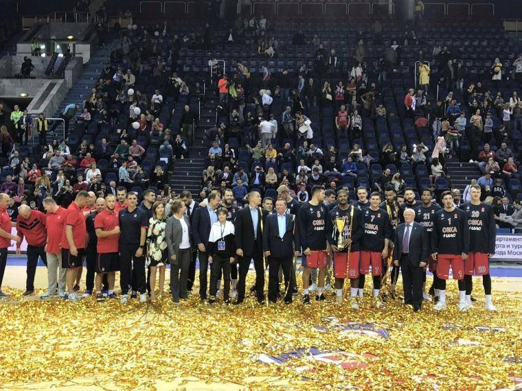 ЦСКА дал туркам 28 очков форы, но все равно выиграл Кубок Гомельского