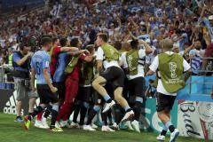 Уругвай показал чемпионский дух. Что покажет Россия?
