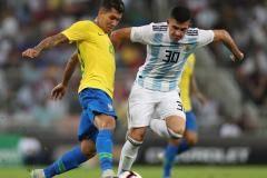 На это было больно смотреть. Бразилия на последних минутах обыграла Аргентину