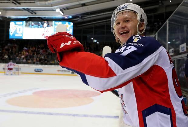 Кирилл Капризов: Я бы очень хотел сыграть с ЦСКА против клуба НХЛ (видео)