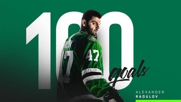 Видео дня: Радулов в матче с «Айлендерс» забросил 99-ю и 100-ю шайбу в НХЛ