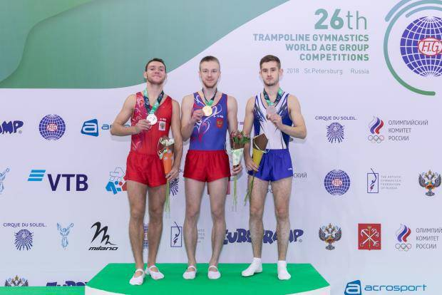 Ивановец стал победителем первенства мира по прыжкам на батуте