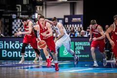 Баскетболисты сборной России одержали волевую победу над финнами в отборе КМ-2019