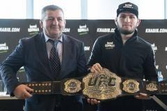 Абдулманап Нурмагомедов: UFC потеряет миллиард, если отстранит Хабиба более чем на полгода