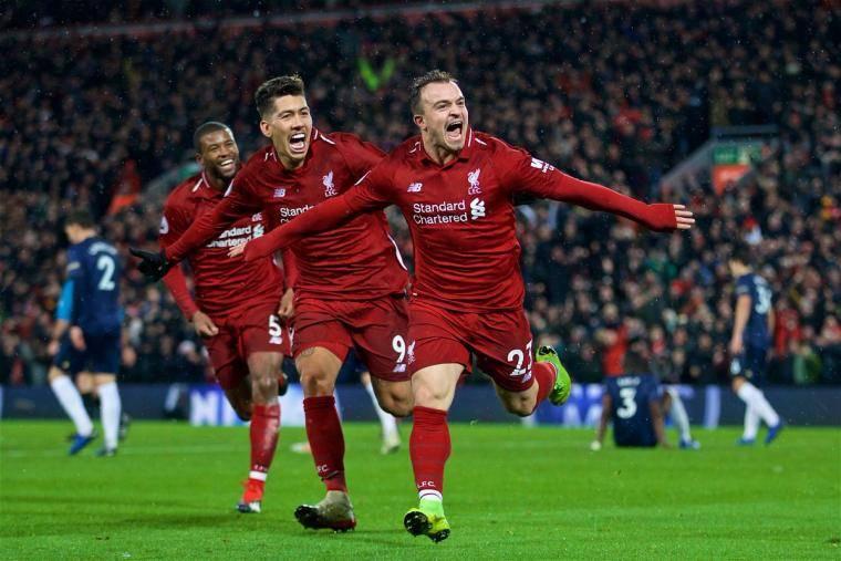 «Ливерпуль» размазал «Манчестер Юнайтед». Шакири забил два восхитительных гола