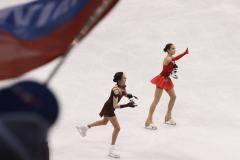 Загитова, Трусова и Медведева – впервые на одном катке. Это чемпионат России