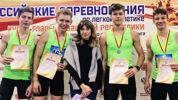Татарстанцы завоевали награды в соревнованиях по легкой атлетике