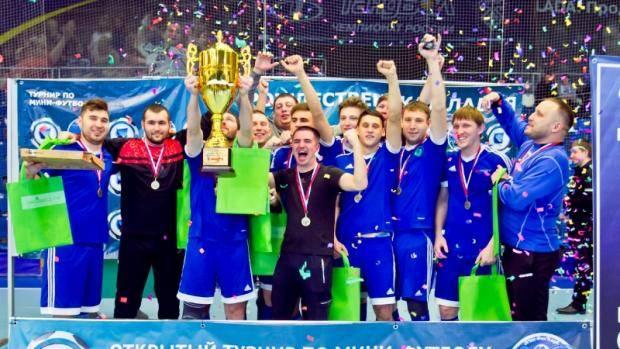 Альметьевские мини-футболисты стали победителями Всероссийского турнира