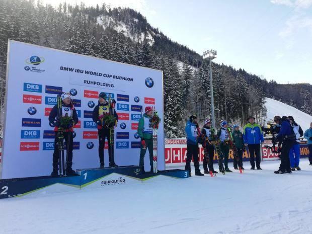 Бе-младший выиграл спринт в Рупольдинге, Логинов – пятый