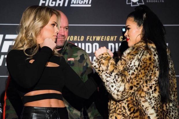 Битва двух чемпионов и сражение красоток. О первом турнире UFC в 2019 году