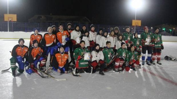 В Аксубаево прошли матчи «Золотой шайбы»