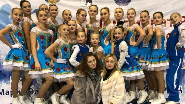 Зеленодольские фигуристки вошли в пятерку лидеров на чемпионате России