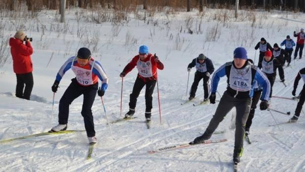 Лучших лыжников определили среди работников органов исполнительной и законодательной власти