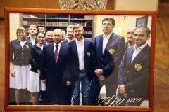 Президент РШФ подарил музею шахмат фотографию с автографом Владимира Путина