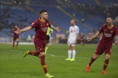 «Рома» одержала третью победу кряду в серии А, обыграв «Торино»