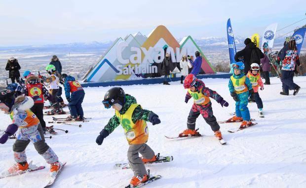 Сахалин отметил Всероссийский День снега